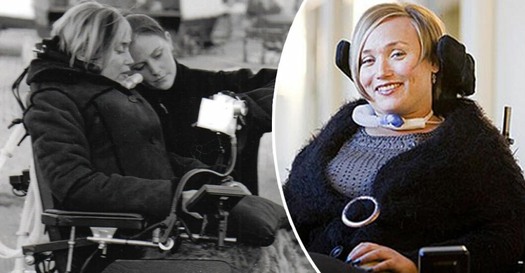 Nina Muhonen från Västerås blev förlamad efter en dykolycka.