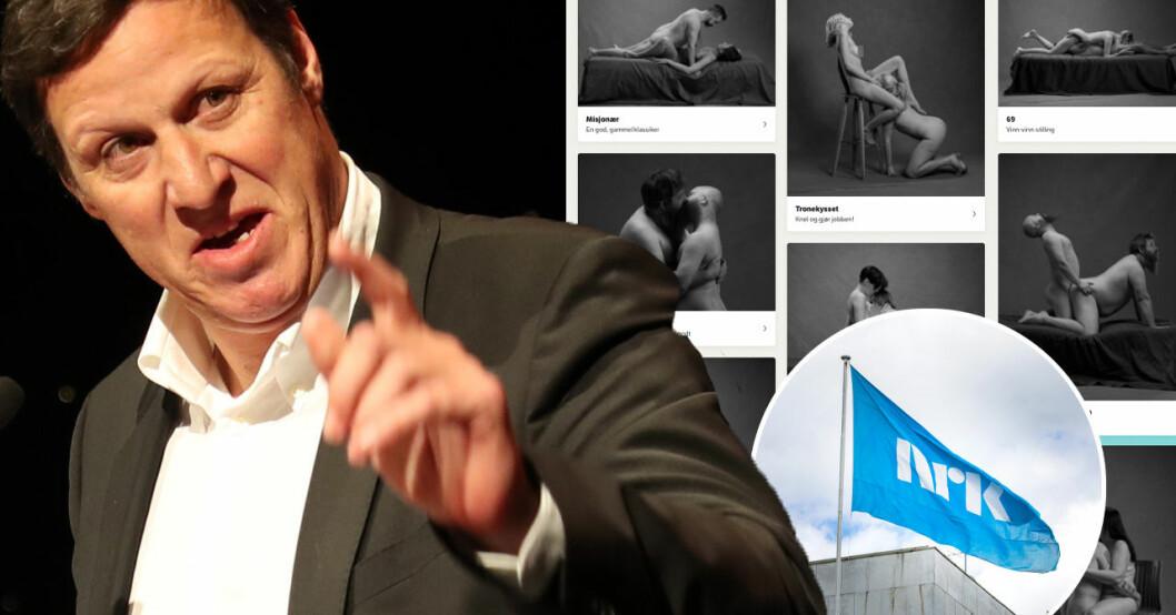 Tom Tvedt kritisk mot NRK