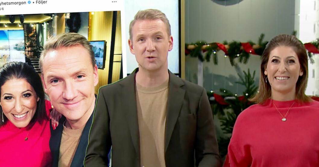 TV4-tittarna kritiserar programledarna Jesper Börjesson och Rania Olsson efter sändningen i nyhetsmorgon