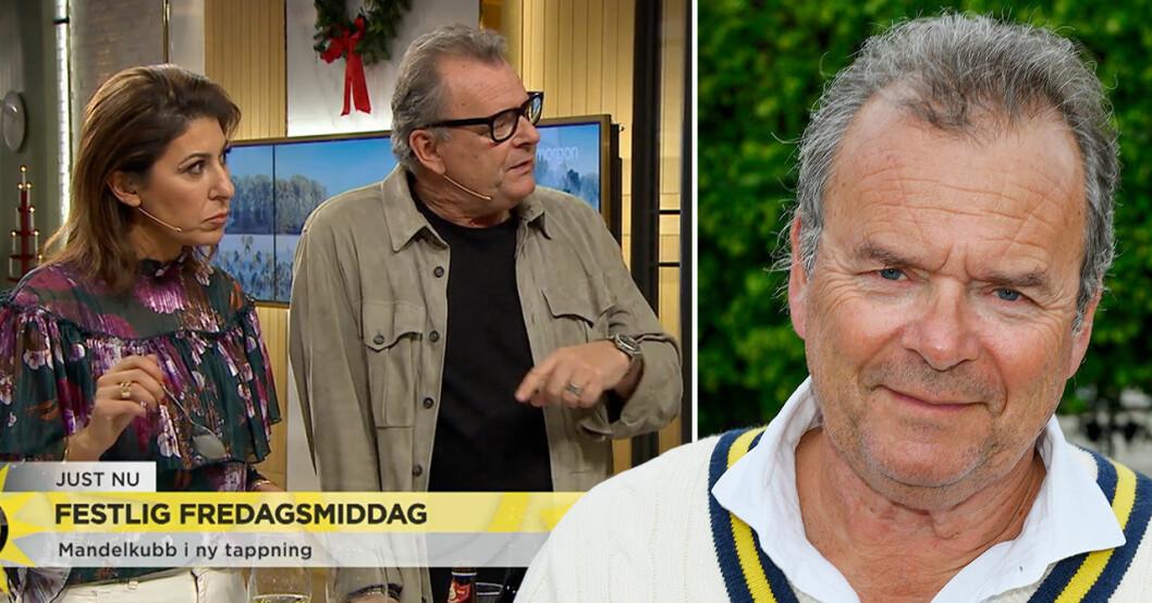 Steffo Törnquist i Nyhetsmorgon