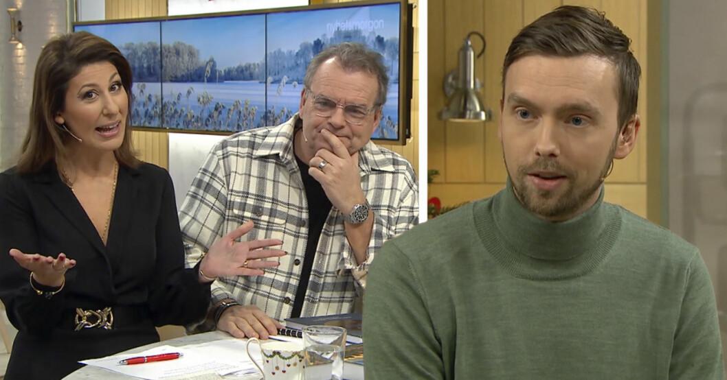 Väder-Lasse Rydviist försvinner från Nyhetsmorgon-sändningen på TV4.
