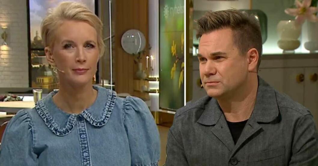Jenny Strömstedt och Anders Pihlblad