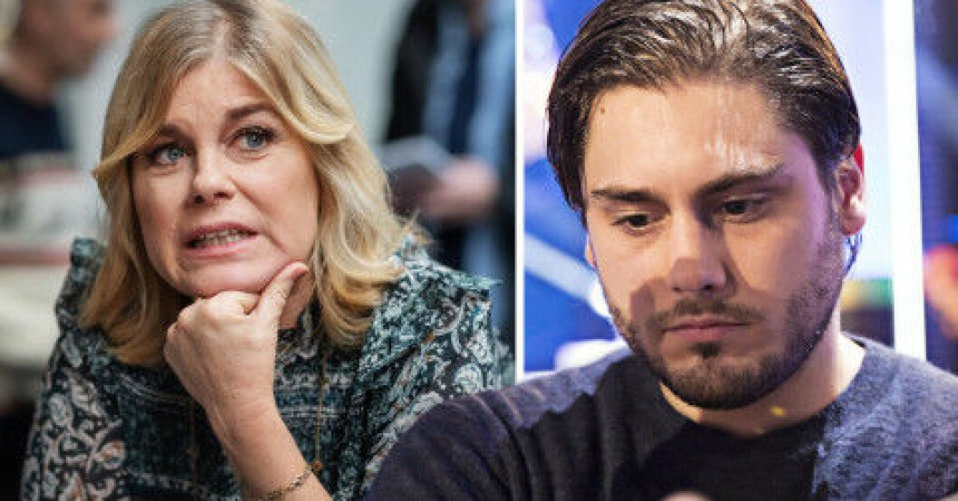 Pernilla Wahlgren, Oliver Ingrosso