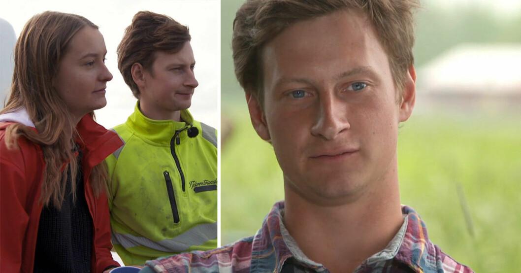 Oscar Fjärrstrand och Cissi Pettersson.