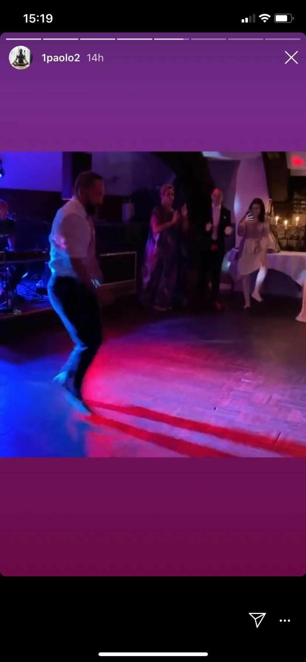 Paolo Roberto dansar