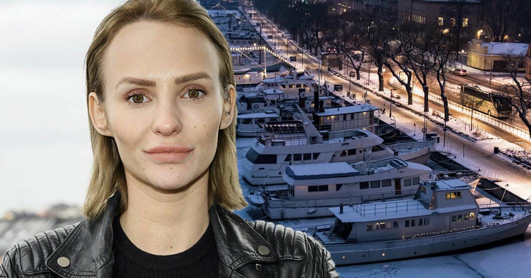Paulina Paow Danielsson berättar om att han blivit våldtagen på en båt.