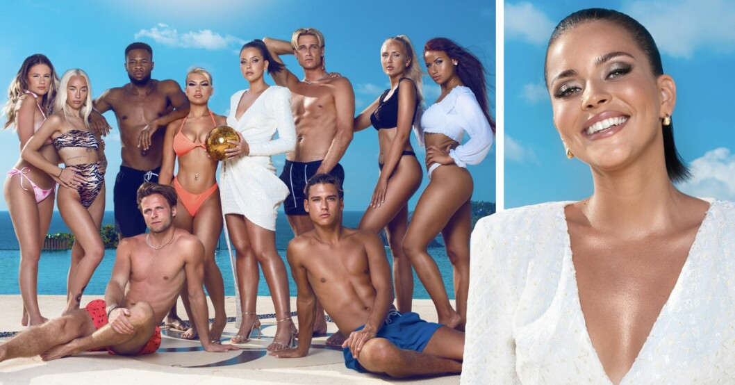 Paradise hotel alla deltagare 2021 och Nicole Falciani