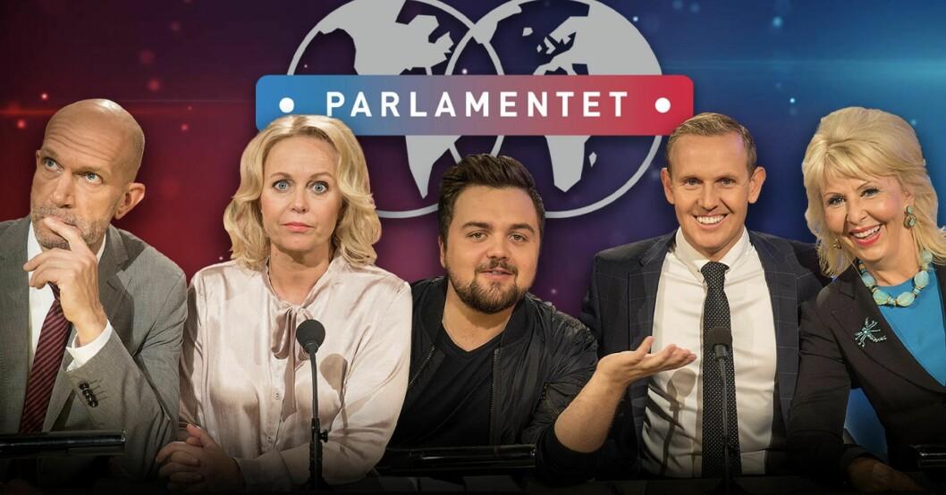 Komiker i Parlamentet på TV4