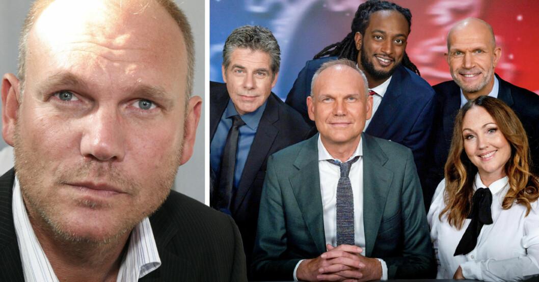 Anders S Nilsson och komiker i Parlamentet
