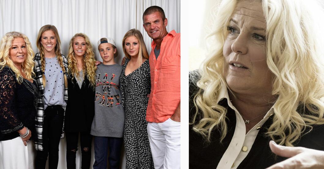 Familjen Parnevik slutar med tv-serien Parneviks
