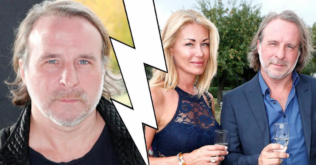 Patrik Isaksson och Caisa har gjort slut
