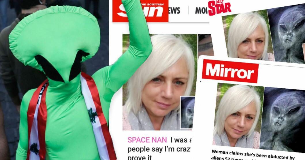Paula Smith från Bradford har sett aliens
