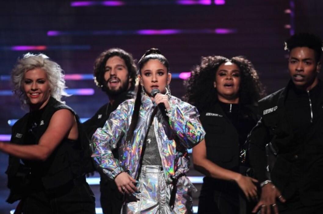 Suzi P i Melodifestivalen 2020