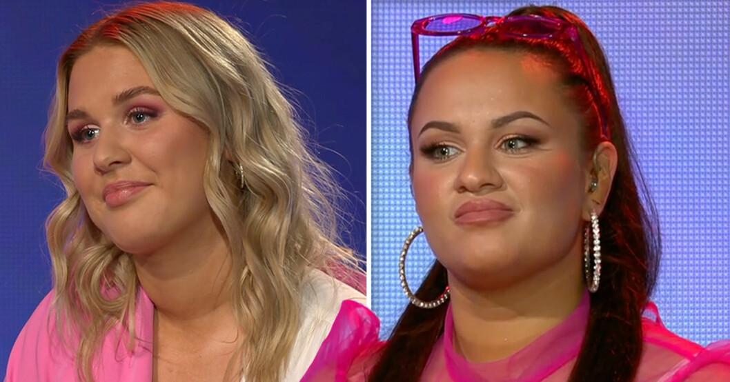 Tess och Paulina i Idol