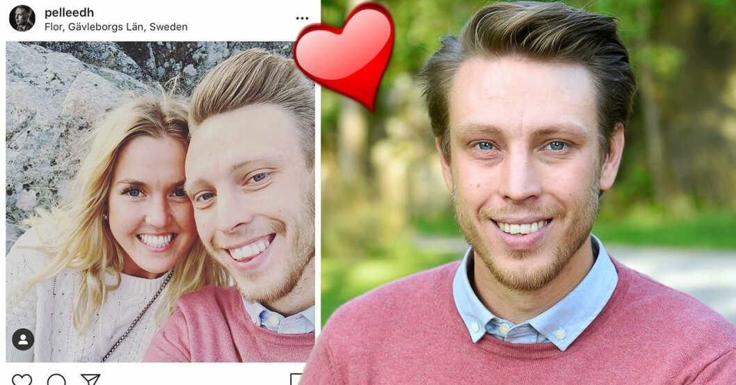 Pelle Hansson och flickvännen Karin