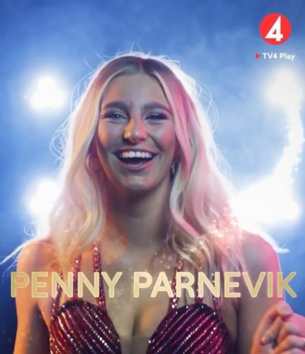 Penny Parnevik är en av deltagarna i Let's dance 2020