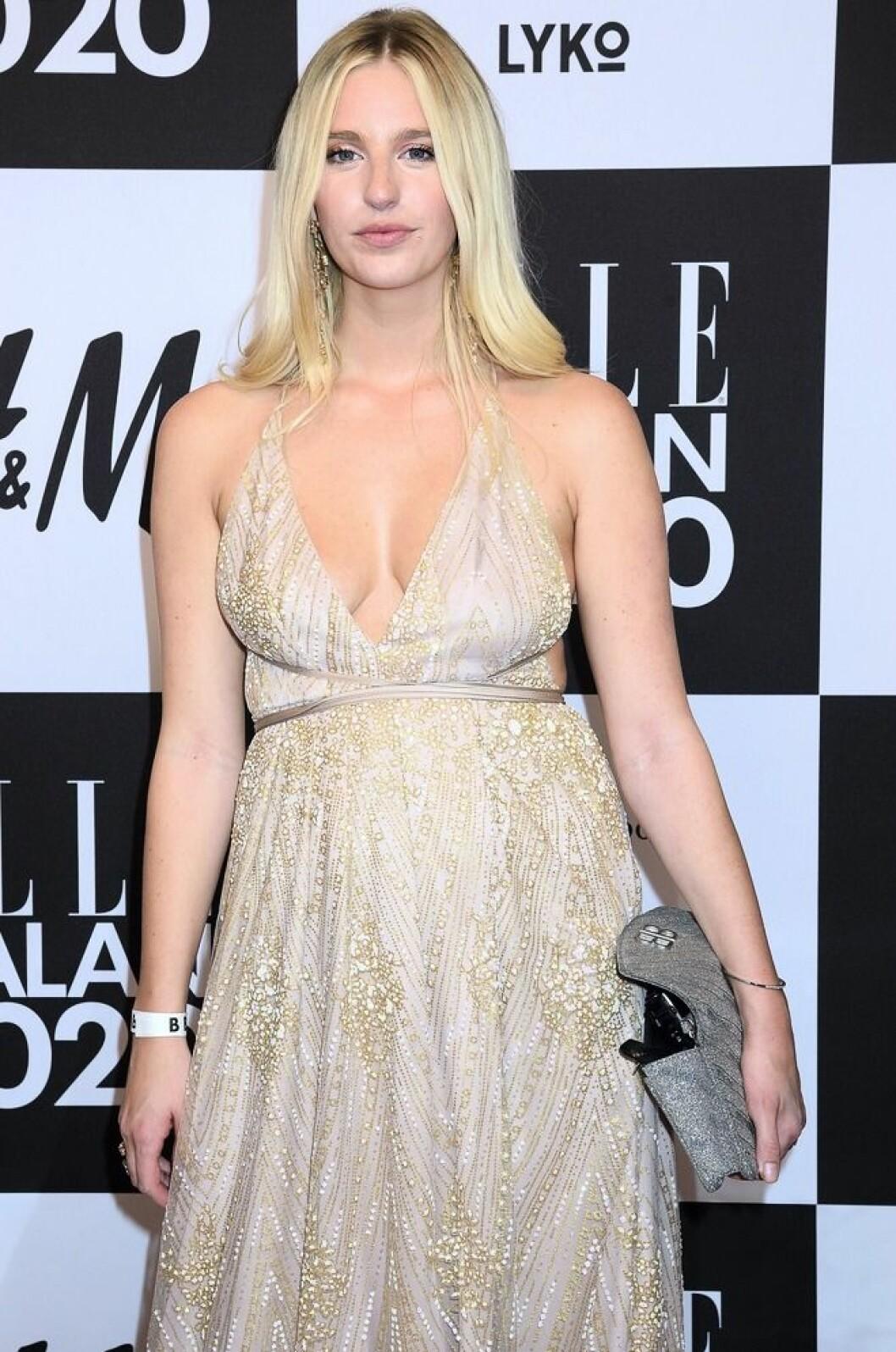 Penny Parnevik på Elle-galan 2020