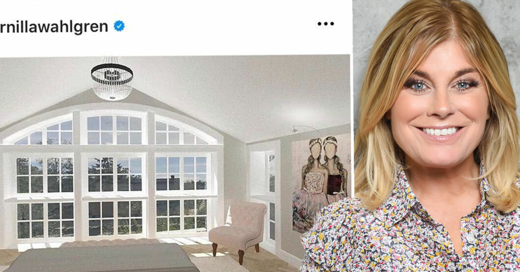 Pernilla Wahlgrens nya hus