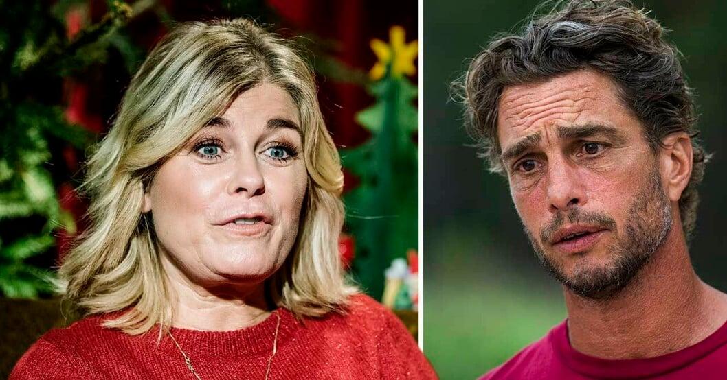Pernilla Wahlgren och Anders Öfvergård