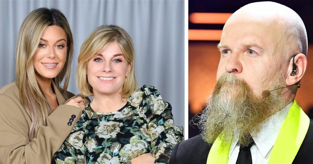Pernilla Wahlgren, Bianca Ingrosso, Alexander Bard