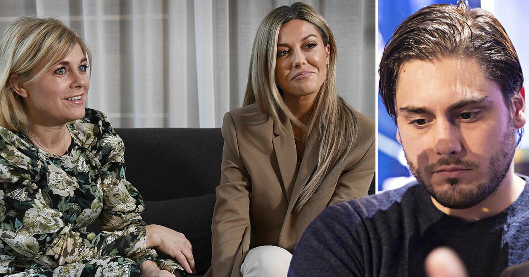 Pernilla Wahlgren, Bianca Ingrosso, Oliver Ingrosso