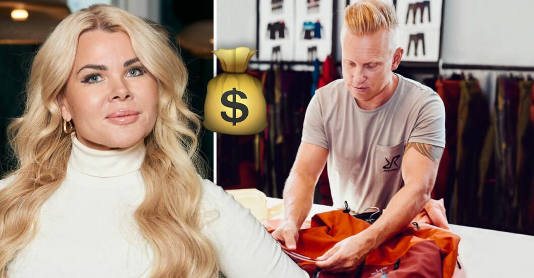 Pernilla och Niclas Nyrensten kan bli stormrika på sitt bolag.