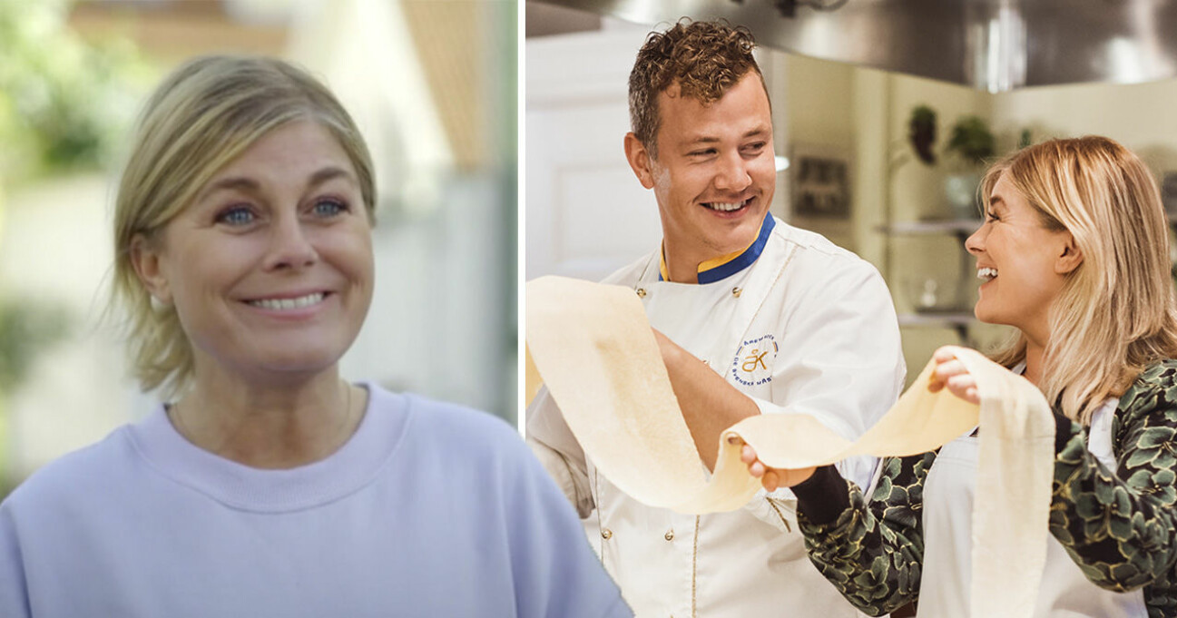 Pernilla Wahlgren och Thomas Sjögren