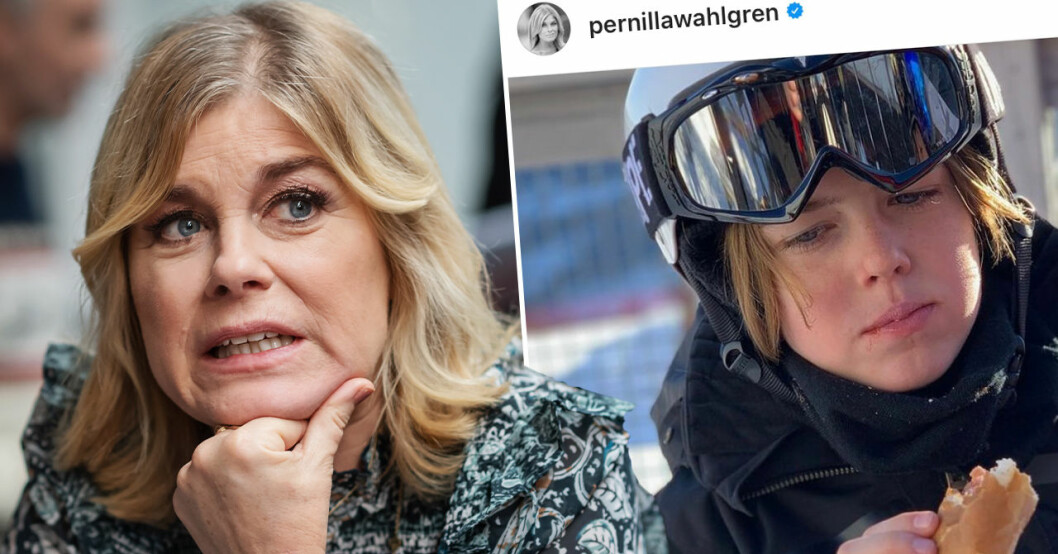 Pernilla Wahlgren, Theo Wahlgren