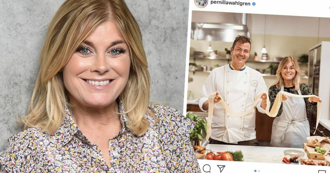 Pernilla Wahlgren, tv-programmet Yes Chef med Thomas Sjögren