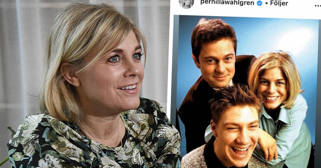 Pernilla Wahlgrens markering mot Niclas
