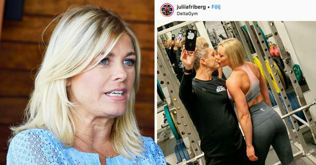 Pernilla Wahlgren om Niclas Wahlgren och Julia friberg