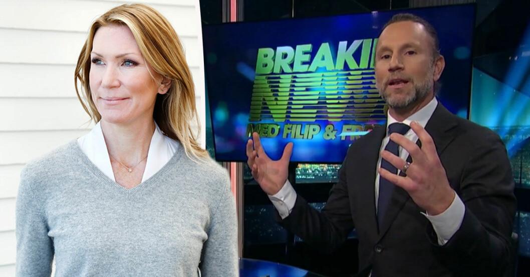 Jenny Alversjö får kritik av Peter Jihde i Breaking News.