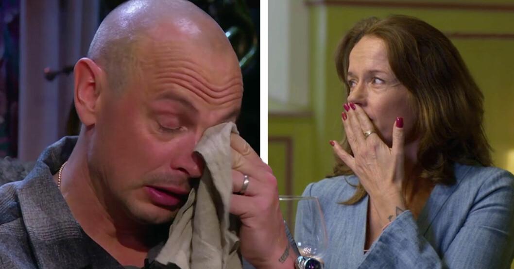 Petter i tårar efter orden om Lill-Babs