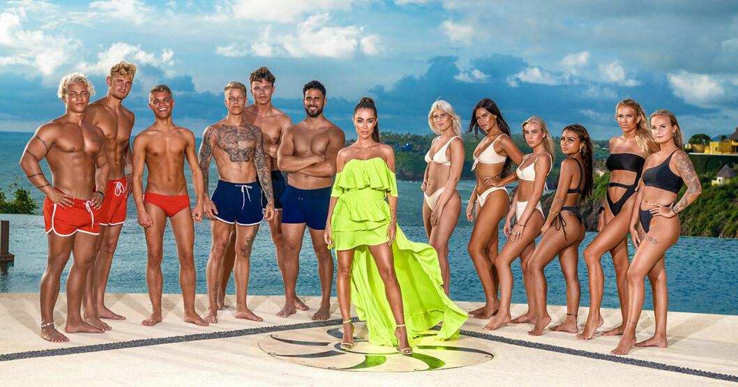Deltagarna i Paradise hotel 2020.