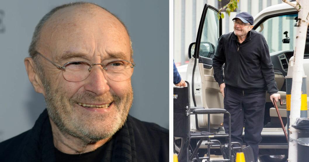 Phil Collins hälsoproblem