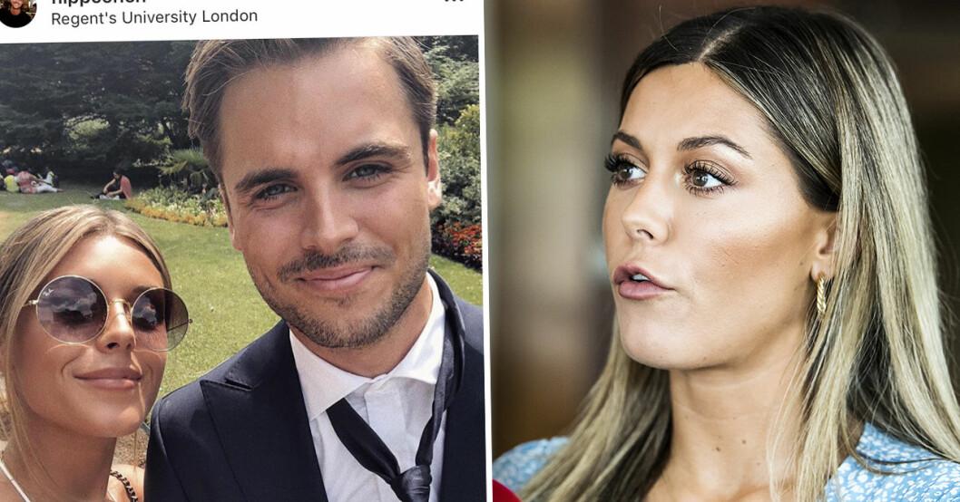 Phillipe Cohen och Bianca Ingrossos relation
