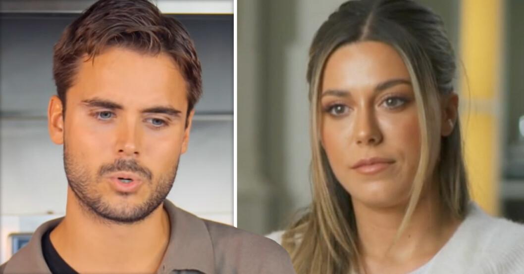 Phillipe Cohen och Bianca Ingrosso