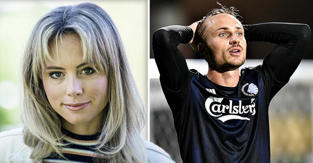 Pierre Bengtsson och Carolina Neurath