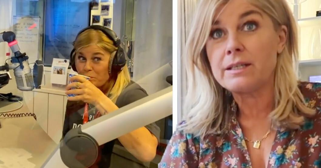 Pernilla Wahlgren dejtar en ny kille.