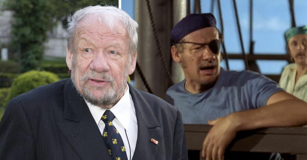 Pippi Långstrump-skådisen Wolfgang Völz är död.