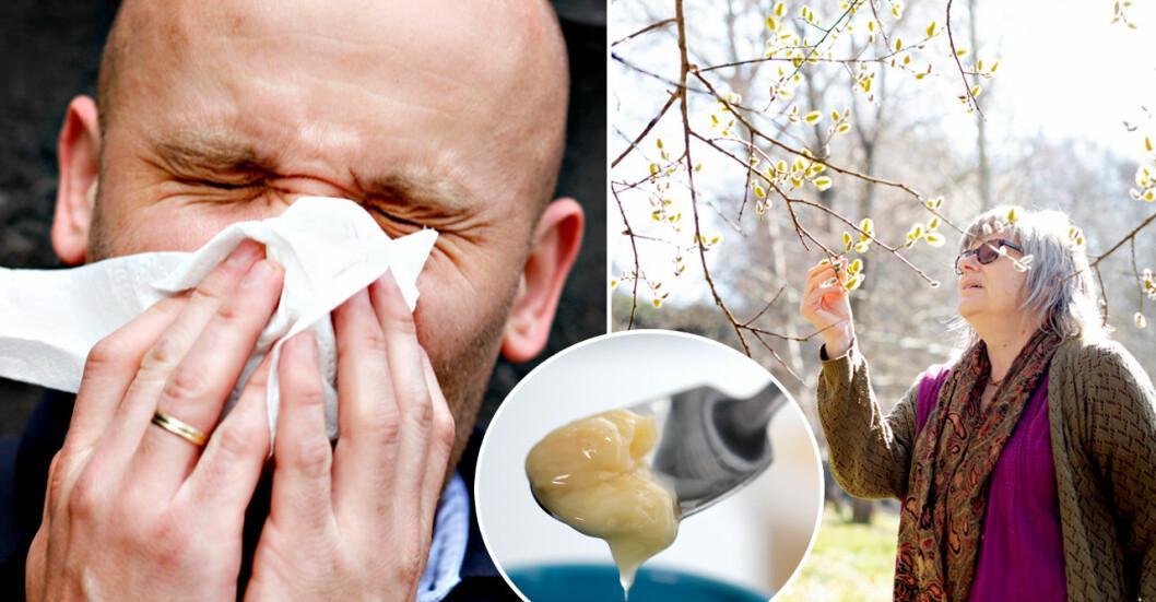 Pollenallergi är en plåga – men funkar huskurerna?