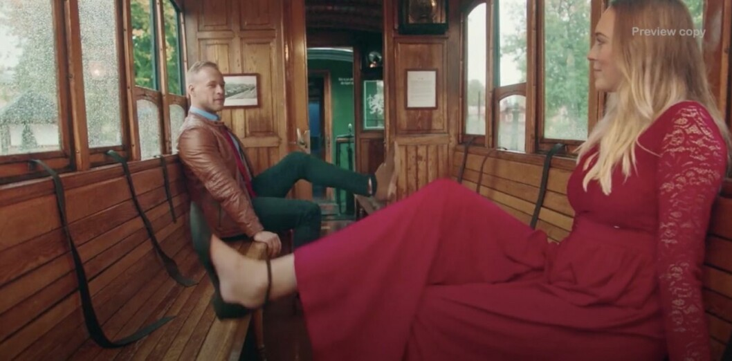 Pontus Bäck i Flirty dancing
