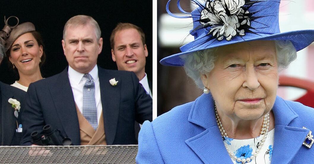 Prins Andrew lämnar kungahusets uppdrag
