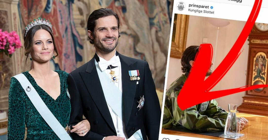 Prins Carl-Philip och prinsessan Sofia