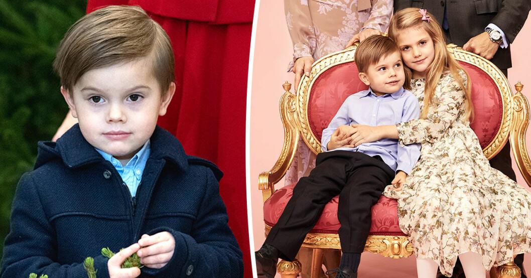 Därför syns prins Oscar allt mer.