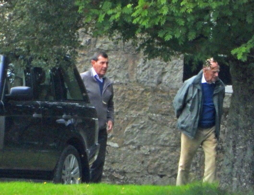 Nya bilden på prins Philip.