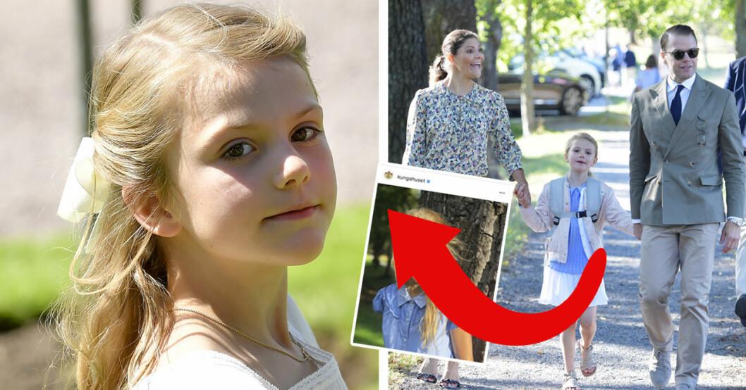 Folket jublar över nya bilden från prinsessan Estelles första dag i årskurs 1 på campus manilla-skolan.