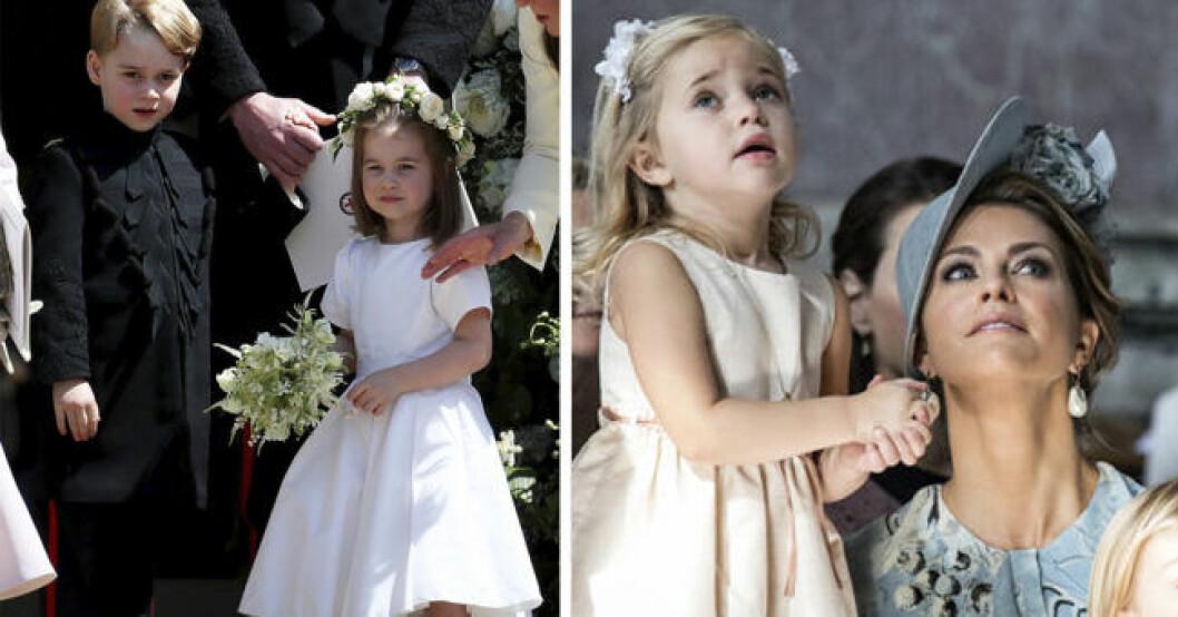 Prinsessan Charlotte i Storbritannien följer svenska prinsessan Leonores fotspår och börjar i dansskola.