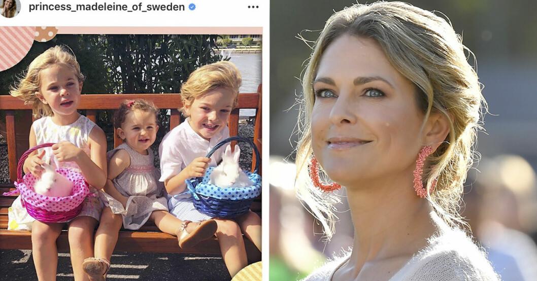 Sanningen bakom prinsessan Madeleines namn på barnen –Leonore, Nicolas, Adrienne.