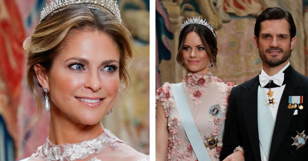 Sofia och Madeleines klänningkrock Nobelmiddagen 2019